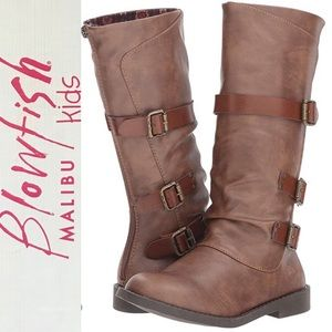 Girls Blowfish Knee High Boots